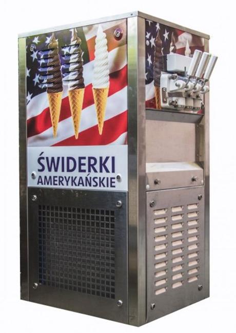 maszyny do lodów świderki